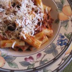 Bolognese Sauce Made with Sirloin…A Family Favorite in My Home