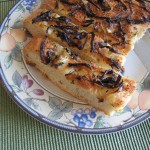 Rosemary Olive Oil Focaccia with Caramelized Onions…A Great Side for Italian Dishes