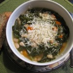 Kale and White Bean Soup…Good as Well as Healthy