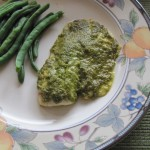 Tilapia with Lemon Pesto…So Easy and Delicious!