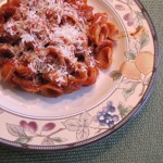 Italian Marinara with Pasta…Easy to Make and Delicious to Eat