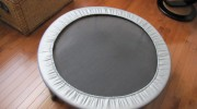 Jog Indoors on an Exercise Mini Trampoline…an Easy to Use and Low Cost Piece of Exercise Equipment