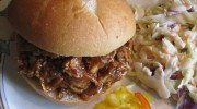 Pulled Pork Sandwiches with Homemade Barbecue Sauce from Mom