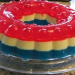 4th of July Red, White, and Blue Jell-O Mold…Easy and Tasty!