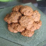 Oatmeal Banana Walnut Cookies…with Mini Chocolate Chips