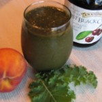 Cherry Peach Kale Smoothie…A Healthy and Delicious Choice!