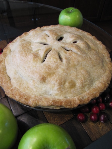 Apple Cranberry Walnut Pie…Sweet, Juicy, and Delicious!