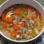 Turkey Vegetable Soup with Wild Rice…A Great Way to Use Leftover Turkey!