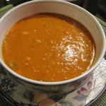 Savory White Bean Soup…A Delicious Vegetarian Soup!
