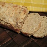 Homemade Apple Cider Beer Batter Bread