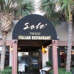 A True Gem, Sole's Italian Restaurant in Myrtle Beach, South Carolina