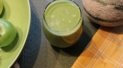 Awesome Green Smoothie with Spinach, Asparagus, and Fruit