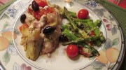 Lemon Chicken with Artichokes, Kalamata Olives, and Feta